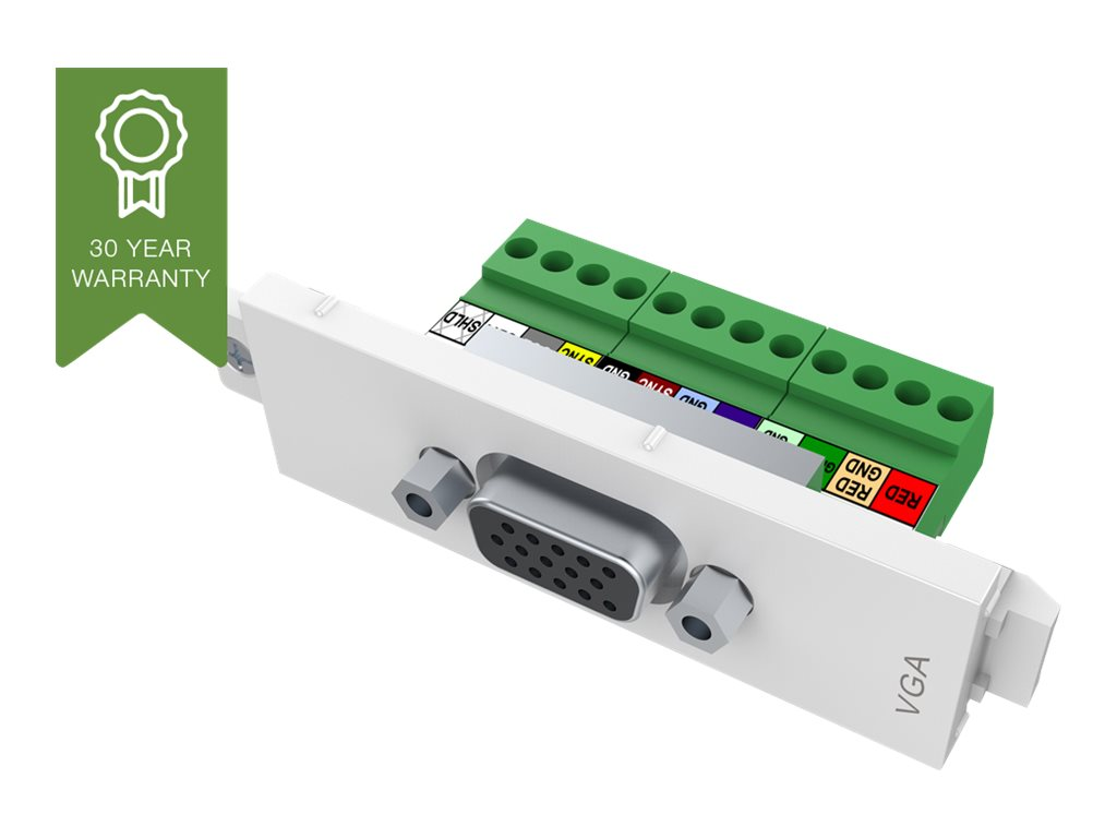 VISION TechConnect 3 VGA female module - Modulares Faceplate-Snap-In - HD-15