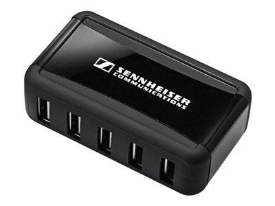 EPOS I SENNHEISER MCH 7 - Netzteil - 100 mA - 7 Ausgabeanschlussstellen (USB) - für Sennheiser CH 10, CH 30; DW 20, 30, Office,