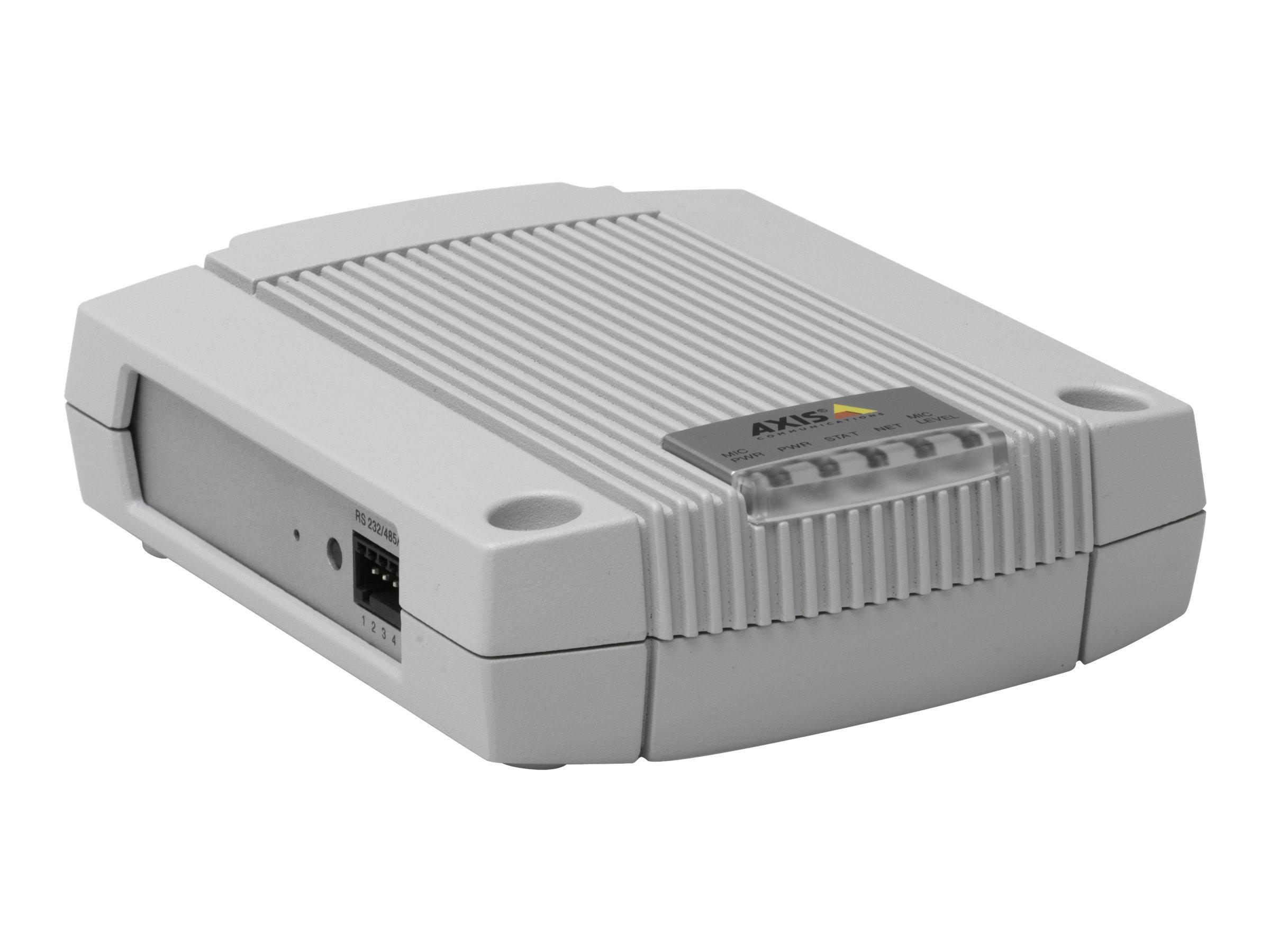 AXIS P8221 Network I/O Audio Module - Erweiterungsmodul (Packung mit 10) - für AXIS M1103, M1104, M1113, M1114, M3203, M3204, M5