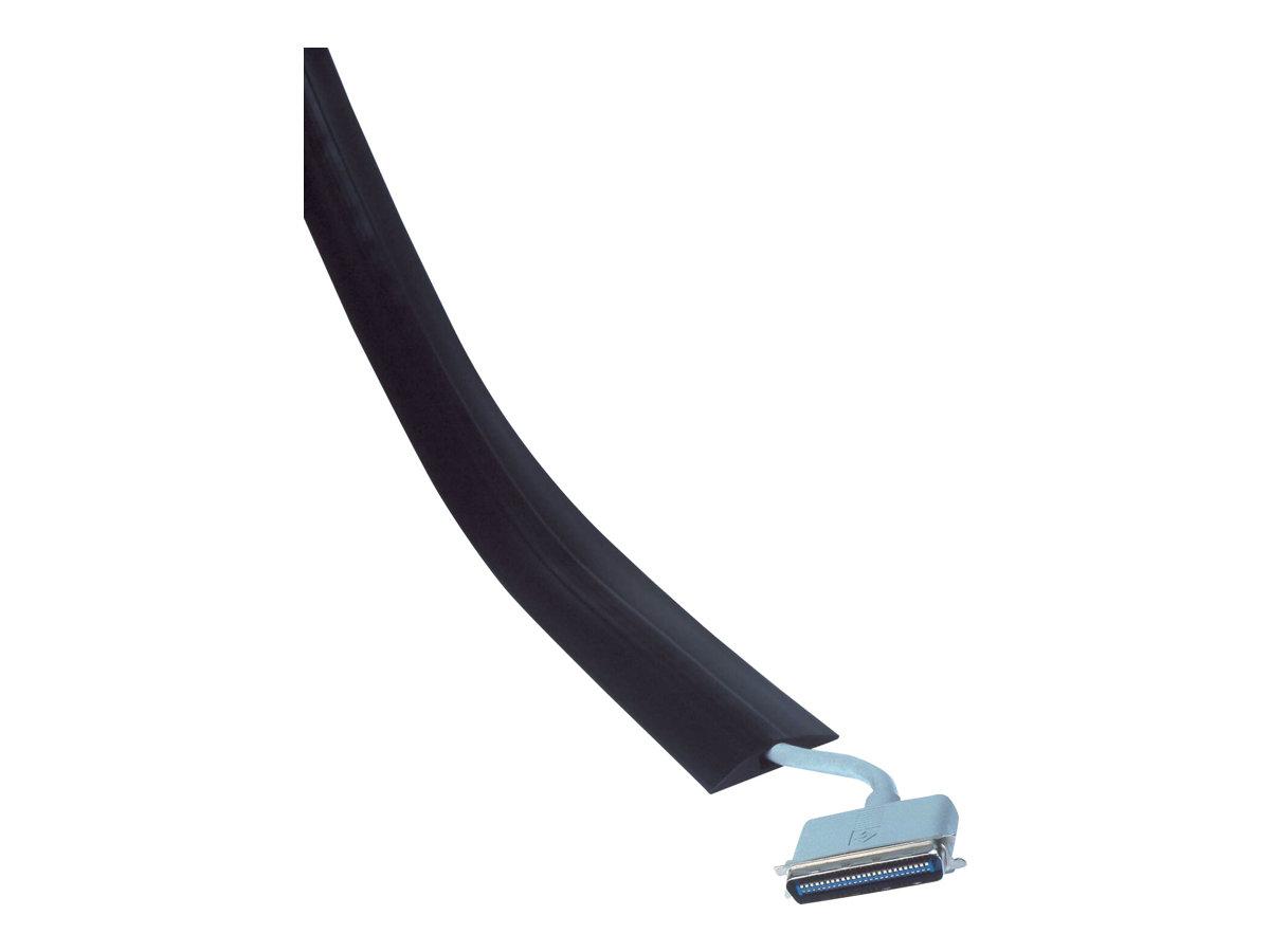 Kensington Cable Curb Single Channel - Kabel-Floor-Guard - Schwarz - 150 cm
