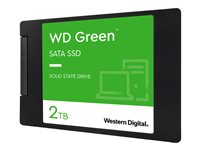 WD Green SSD WDS200T2G0A - Solid-State-Disk - 2 TB - intern - 2.5