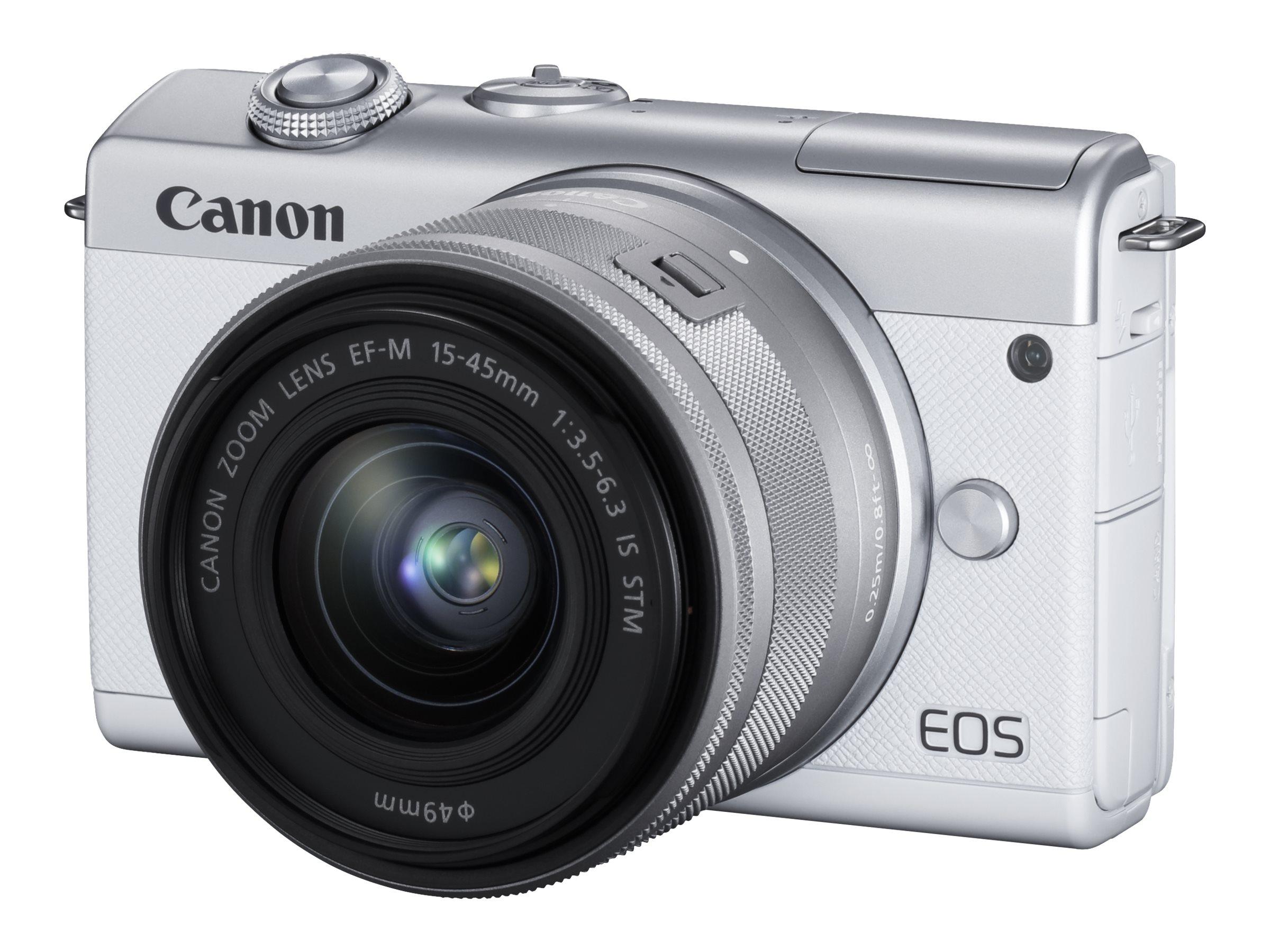 Canon EOS M200 - Digitalkamera - spiegellos - 24.1 MPix - APS-C - 4K / 25 BpS