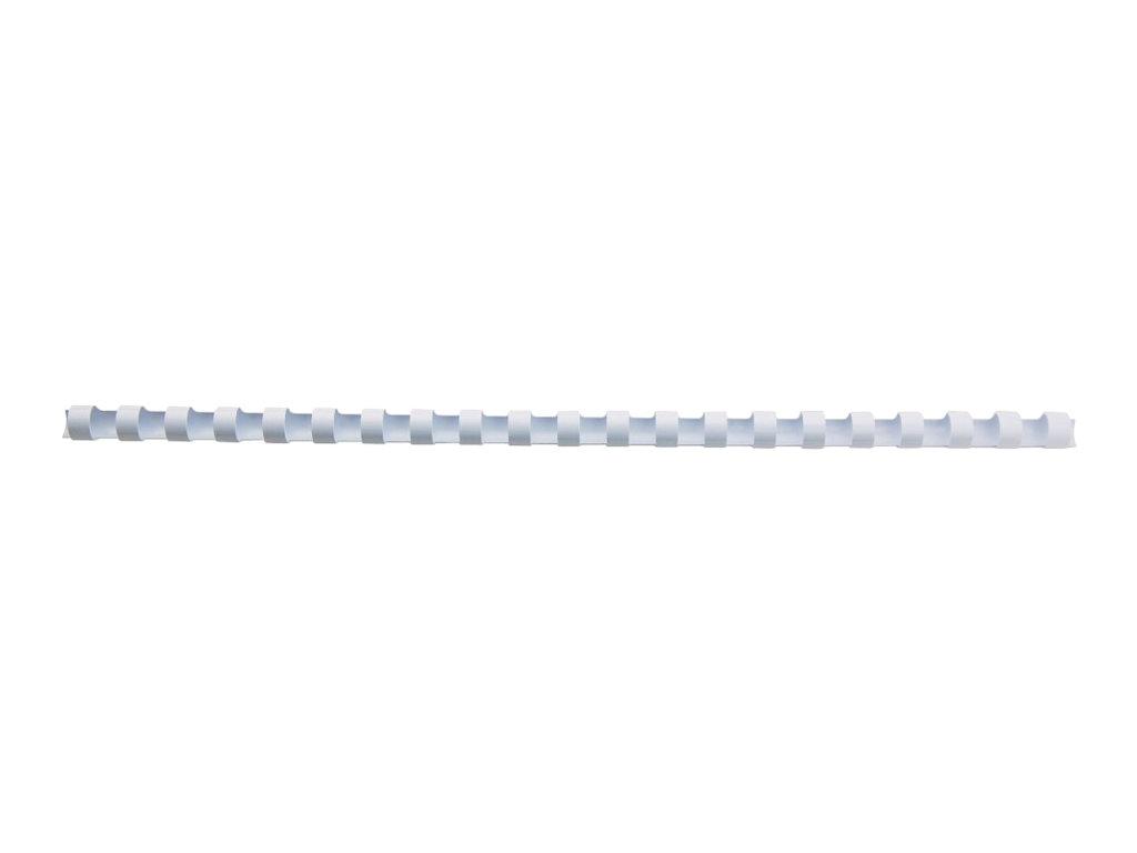 GBC CombBind - 12 mm - 21 Ringe - A4 (210 x 297 mm) - 95 Blätter - weiss