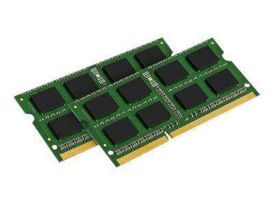 Kingston ValueRAM - DDR3 - 16 GB: 2 x 8 GB - SO DIMM 204-PIN - 1333 MHz / PC3-10600 - CL9