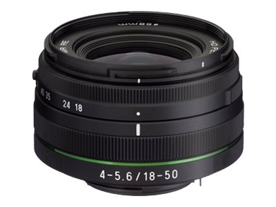 Pentax HD DA - Zoomobjektiv - 18 mm - 50 mm - f/4.5-5.6 DC WR RE - Pentax KAF3