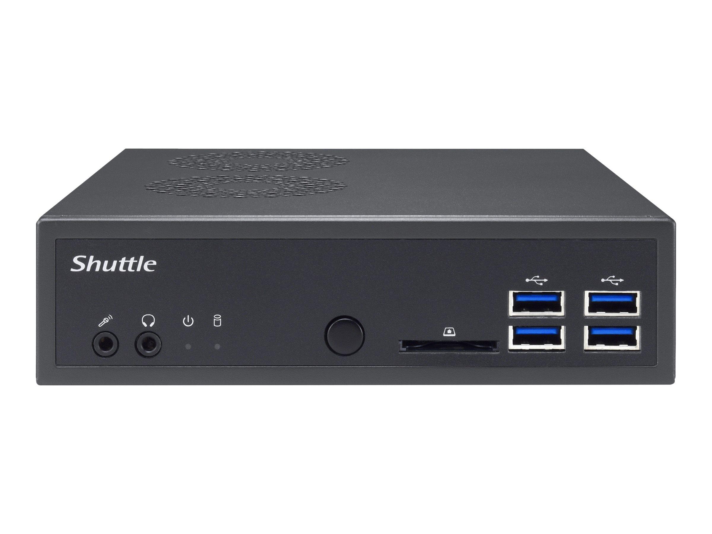 Shuttle XPC slim DA320 - Barebone - Slim-PC - Socket AM4 - AMD A320 - keine CPU