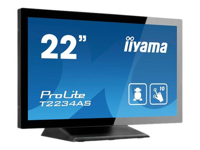 iiyama ProLite T2234AS-B1 - Kiosk - 1 x Cortex-A17 RK3288 / 1.8 GHz - RAM 2 GB - SSD - eMMC 16 GB