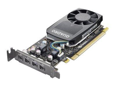 NVIDIA Quadro P620 - Grafikkarten - Quadro P620 - 2 GB GDDR5 Low-Profile - 4 x Mini DisplayPort - für ThinkStation P320 30BJ (SF