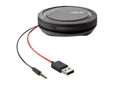 Poly Calisto 5200 - Freisprechsystem - kabelgebunden - 3,5 mm Stecker, USB-C