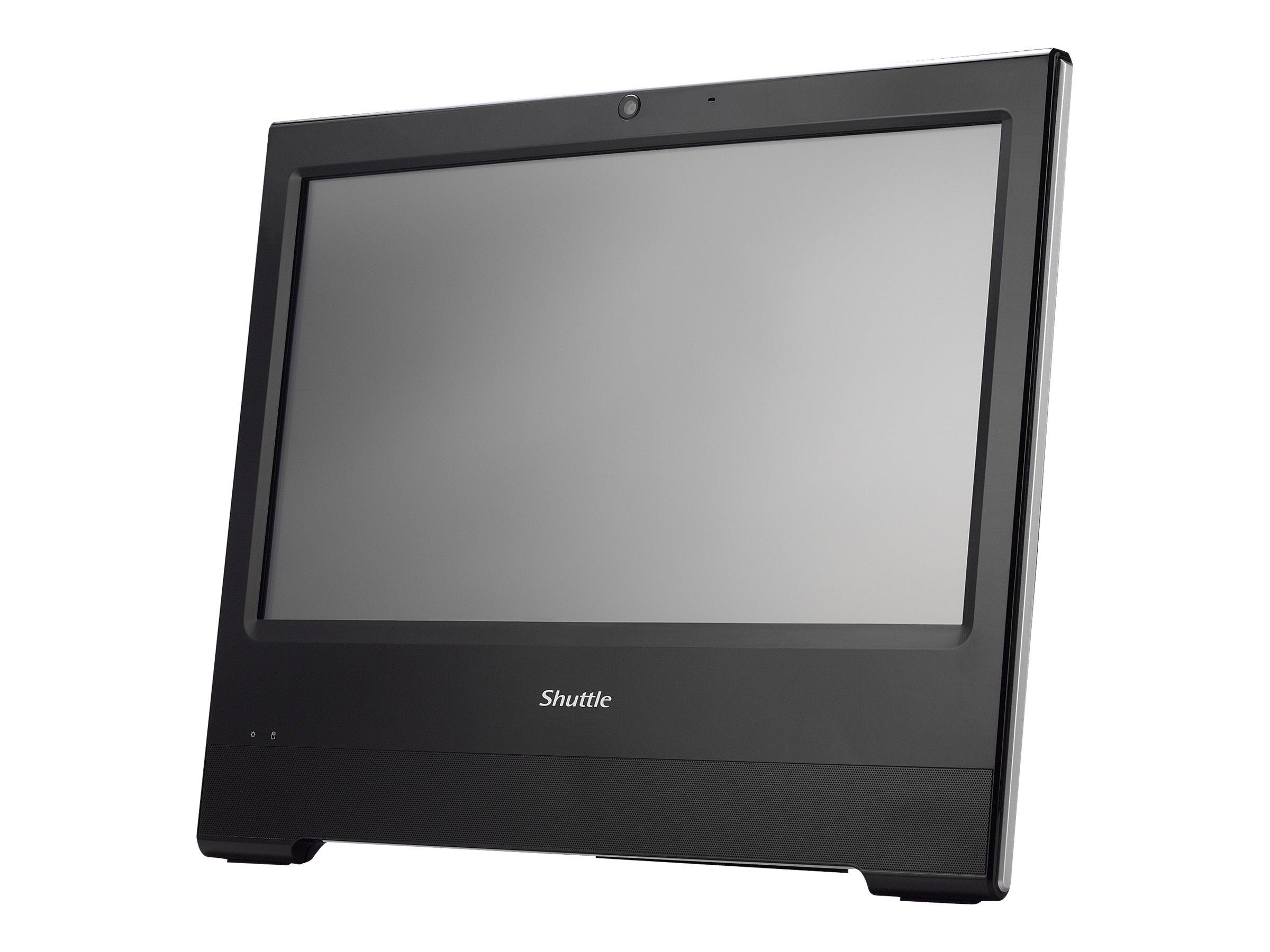 Shuttle XPC X5060TA - All-in-One (Komplettlösung) - 1 x Celeron 3865U / 1.8 GHz ULV - RAM 4 GB - HDD 500 GB - HD Graphics 610