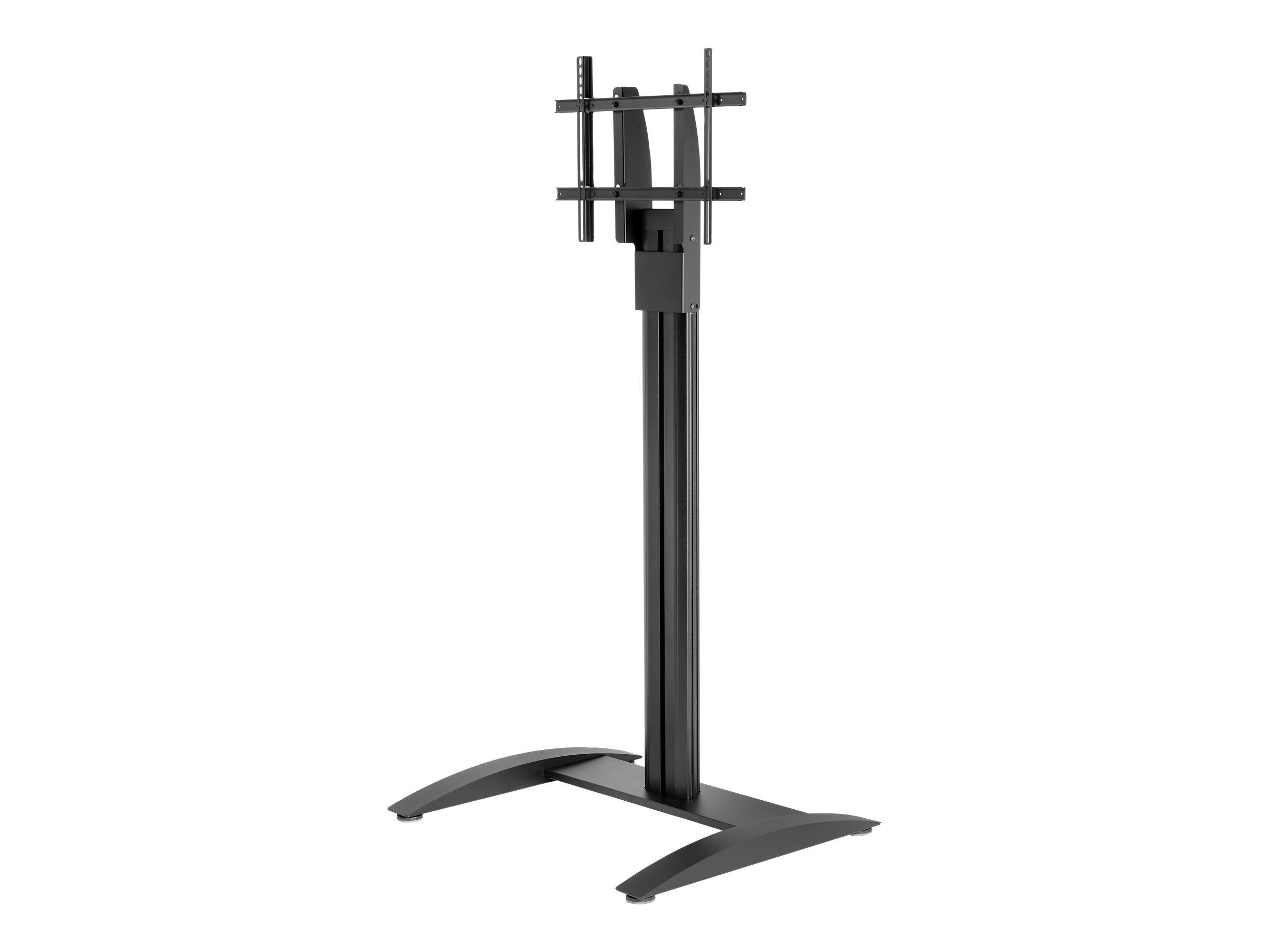 Peerless Flat Panel Stand SS560F - Aufstellung (Bodenplatte, Spalte, VESA-Adapter) für LCD-/Plasmafernseher - Aluminium, kaltgew