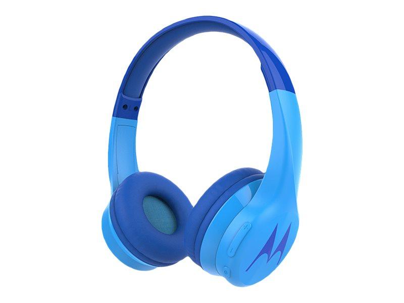 Motorola Squads 300 - Kopfhörer mit Mikrofon - On-Ear - Bluetooth - kabellos, kabelgebunden - 3,5 mm Stecker
