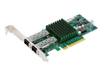Supermicro Add-on Card AOC-STGN-i2S - Netzwerkadapter - PCIe 2.0 x8 Low-Profile - 10 GigE - 2 Anschlüsse - für SuperServer 5086B