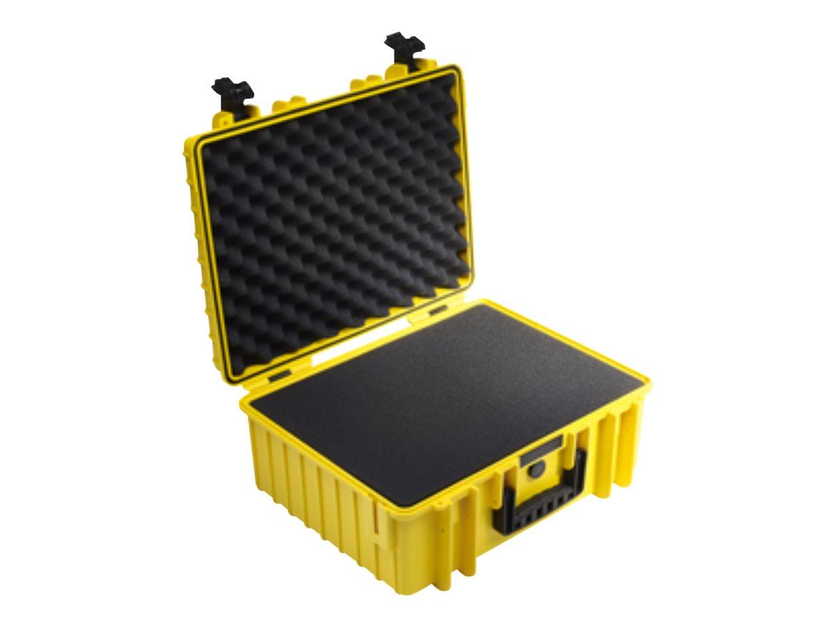 B&W outdoor.cases Type 6000 - Hartschalentasche - Polypropylen - Gelb