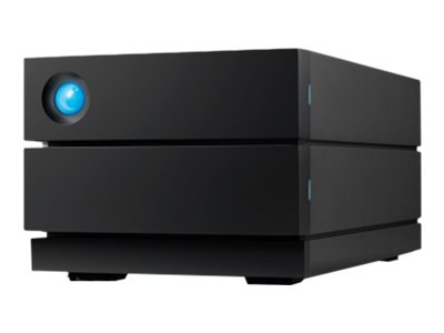 LaCie 2big RAID STHJ36000800 - Festplatten-Array - 36 TB - 2 Schächte - HDD 18 TB x 2 - USB 3.1 Gen 2 (extern)