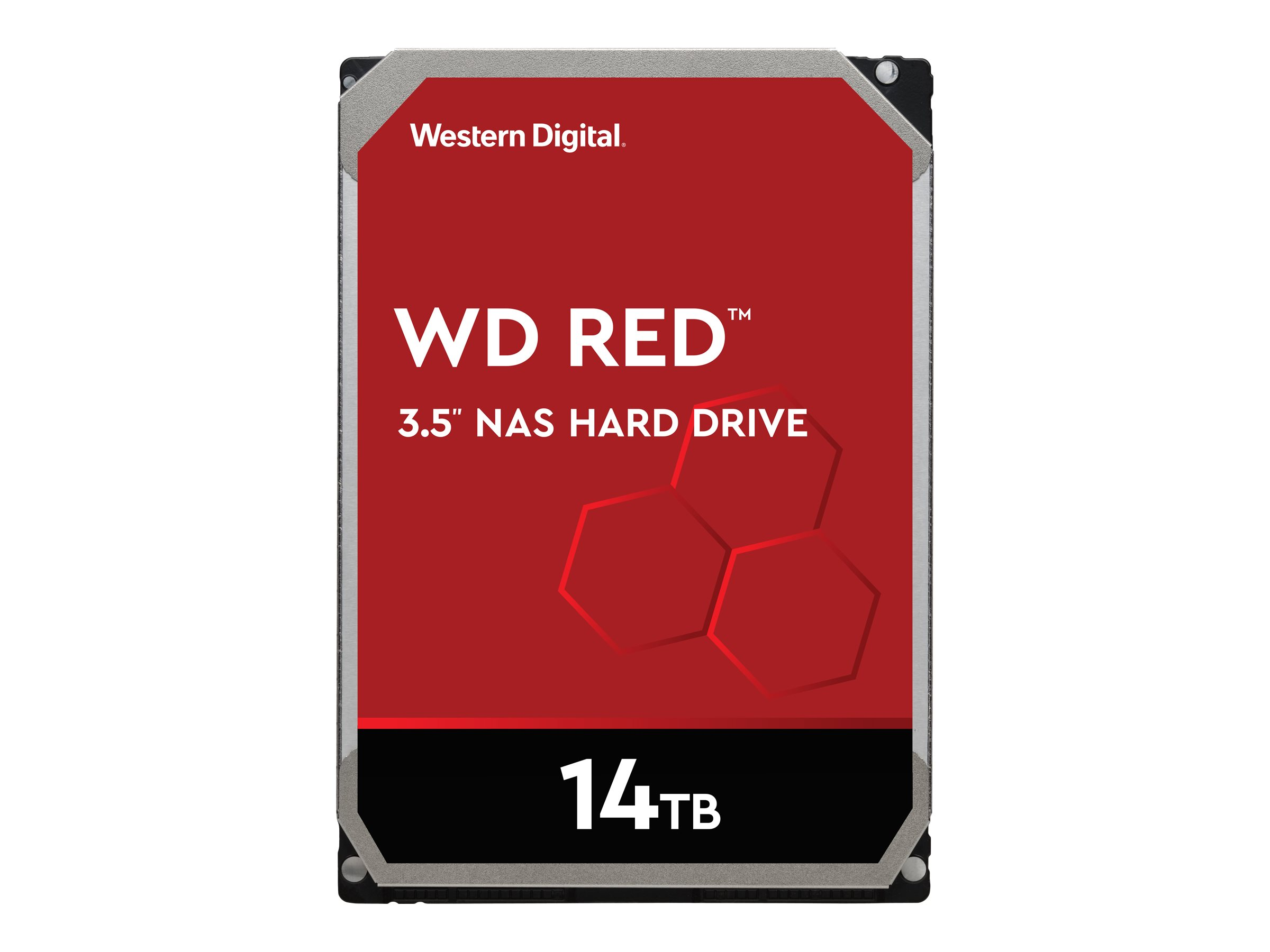 WD Red NAS Hard Drive WD140EFFX - Festplatte - 14 TB - intern - 3.5