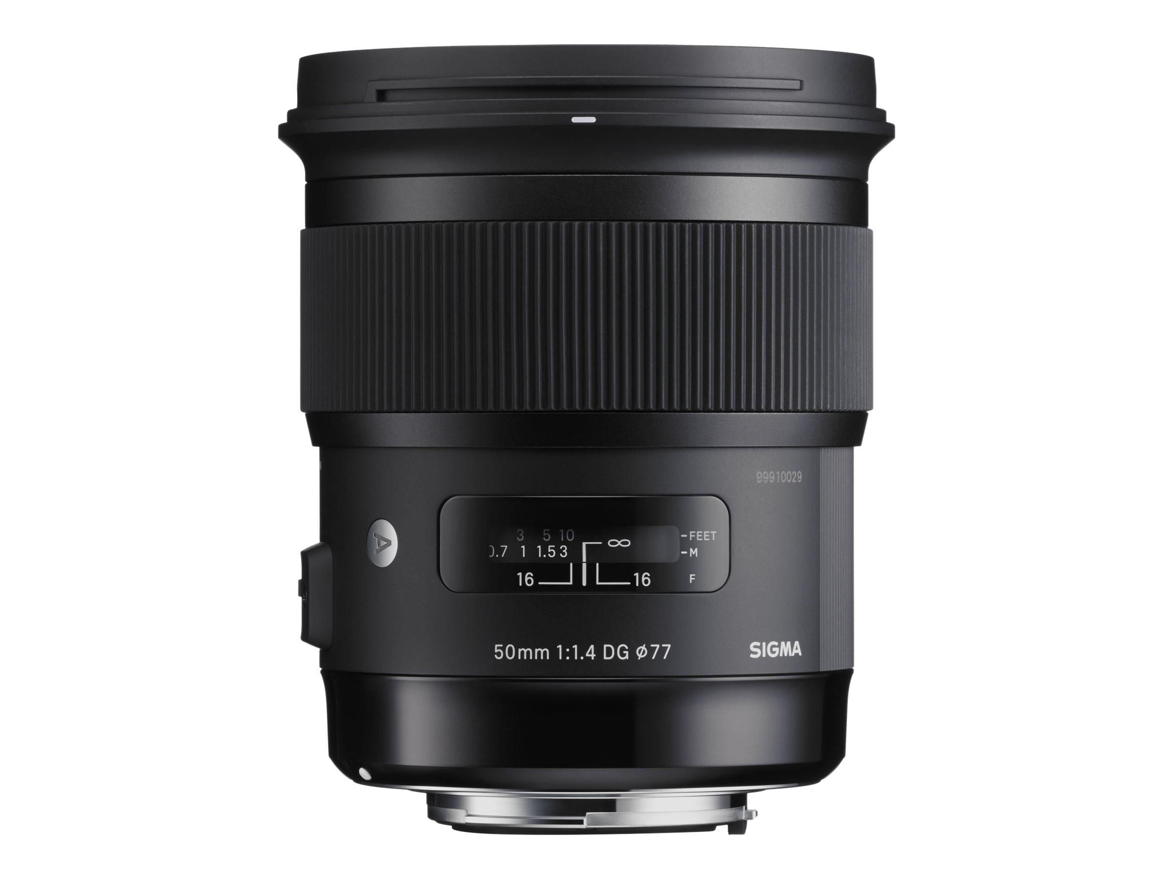 Sigma Art - Objektiv - 50 mm - f/1.4 DG HSM - Canon EF