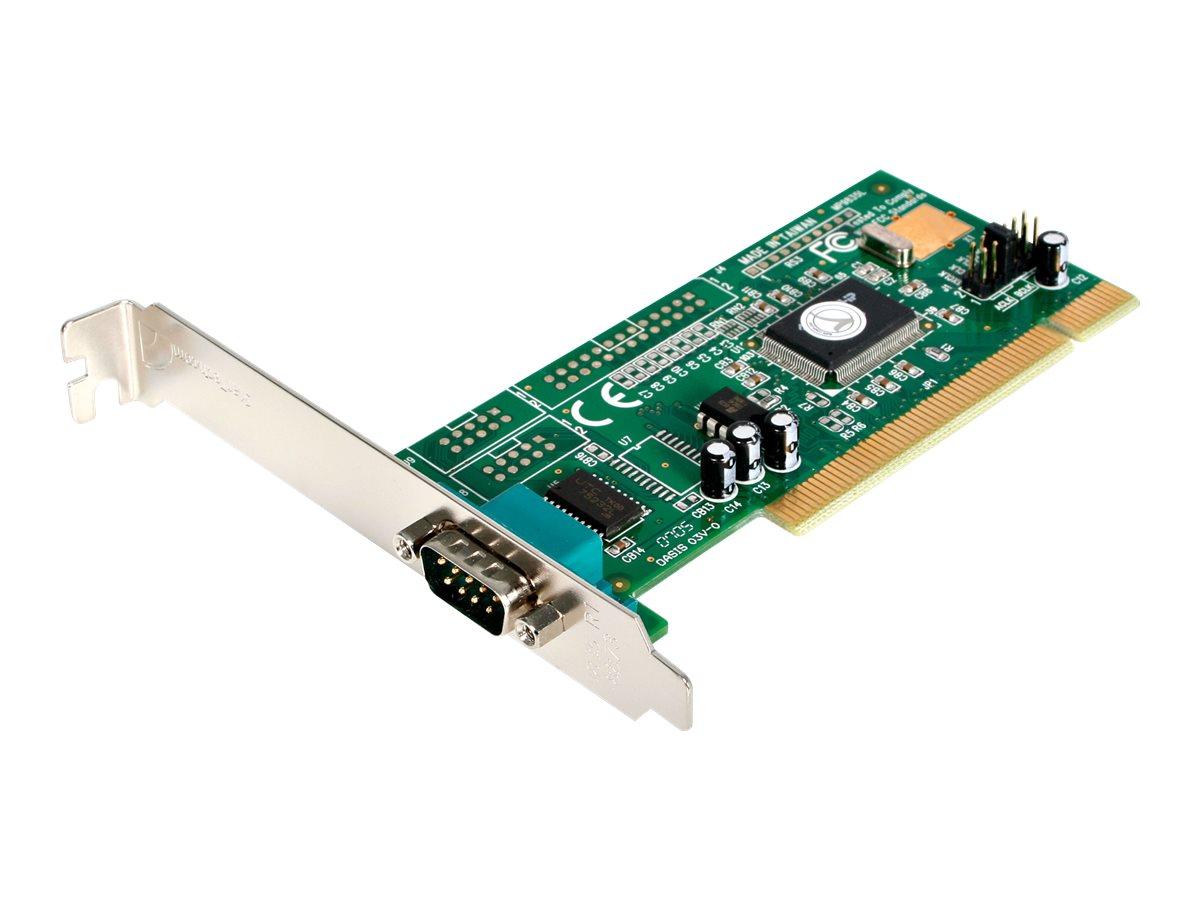 StarTech.com Seriell RS232 PCI Schnittstellenkarte mit 16550 UART - RS-232 / DB9 PCI Karte - Serieller Adapter - PCI - RS-232