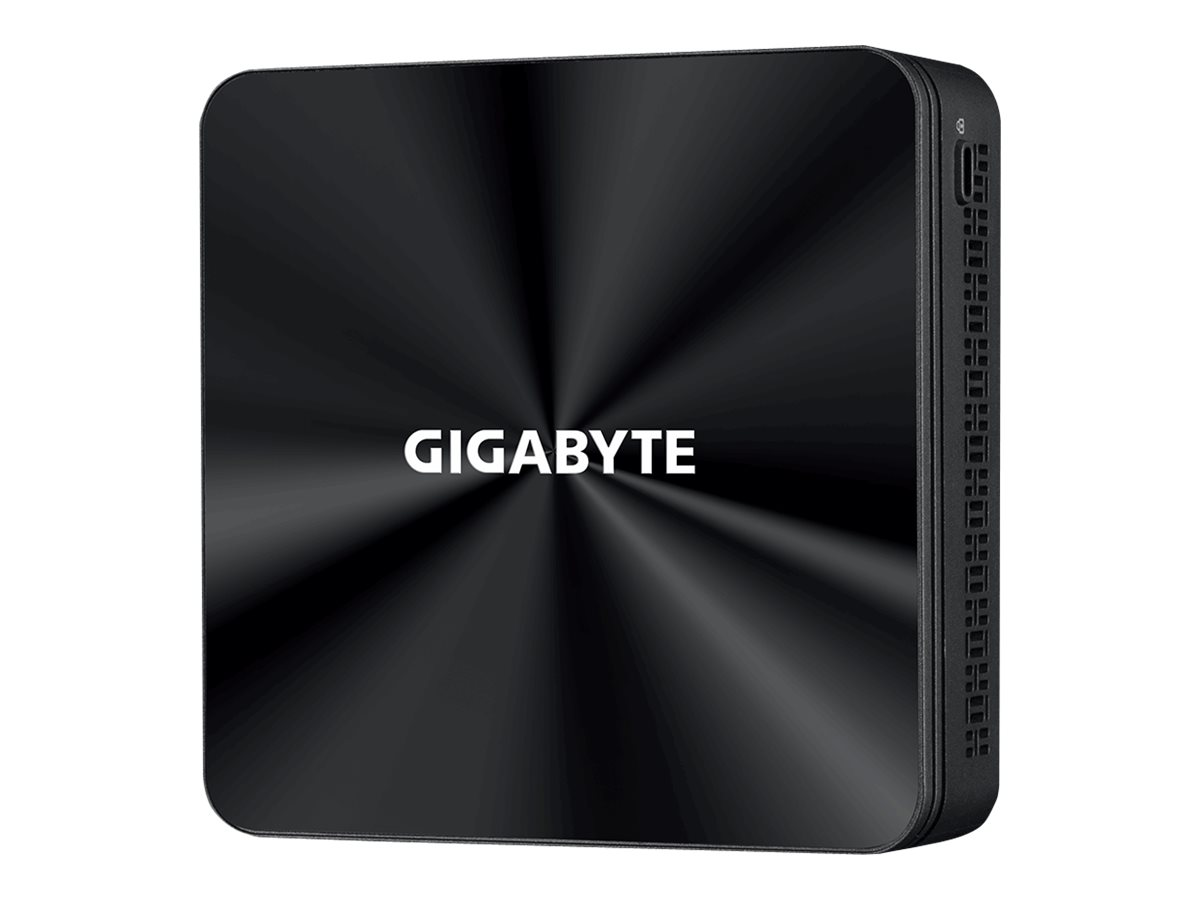Gigabyte BRIX GB-BRi3-10110 (rev. 1.0) - Barebone - Ultra Compact PC Kit - 1 x Core i3 10110U / 2.1 GHz - RAM 0 GB - UHD Graphic