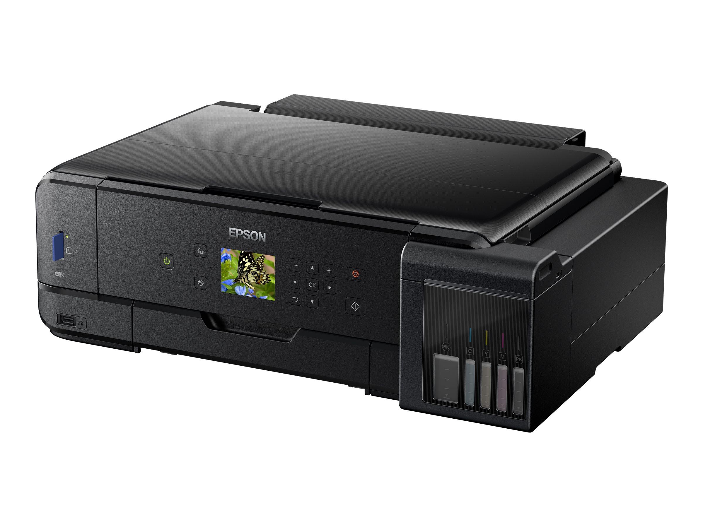 Epson EcoTank ET-7750 - Multifunktionsdrucker - Farbe - Tintenstrahl - Letter A (216 x 279 mm)/A4 (210 x 297 mm) (Original) - A3
