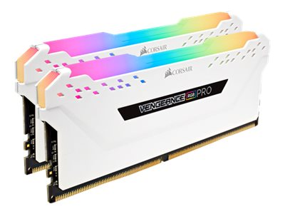 CORSAIR Vengeance RGB PRO - DDR4 - 16 GB: 2 x 8 GB - DIMM 288-PIN - 2666 MHz / PC4-21300 - CL16