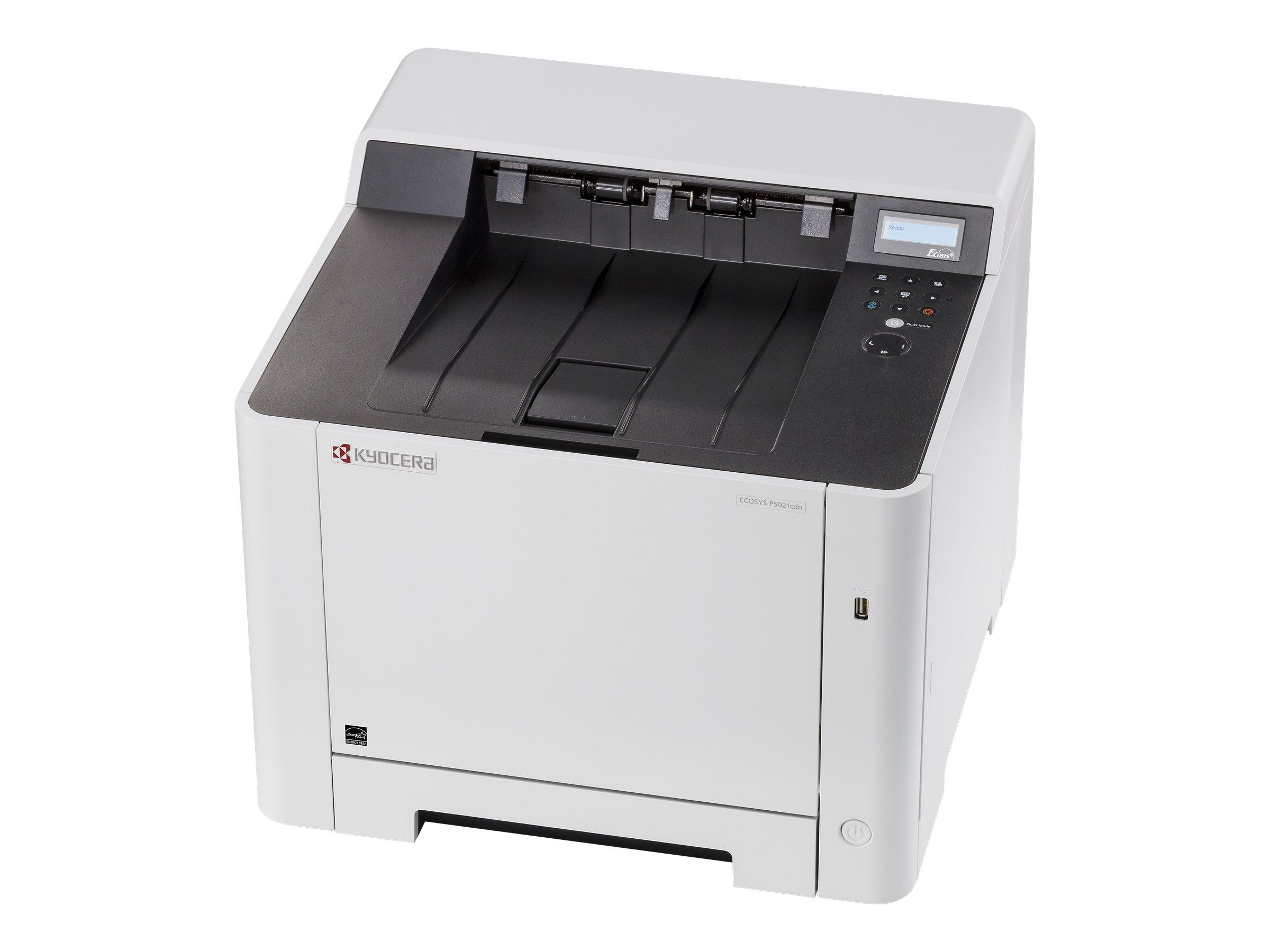 Kyocera ECOSYS P5021cdn/KL3 - Drucker - Farbe - Duplex - Laser - A4/Legal