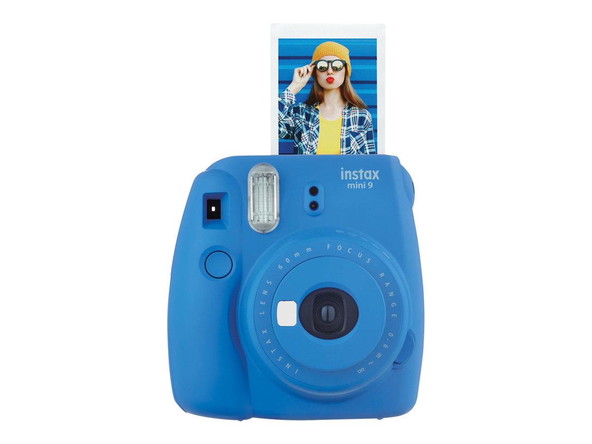 Fujifilm Instax Mini 9 - Instant Kamera - Objektiv: 60 mm kobaltblau