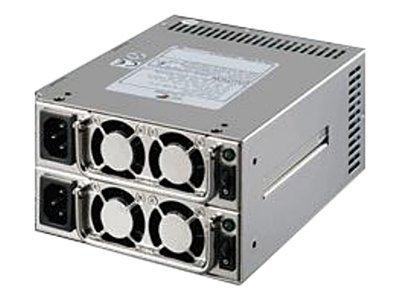 Chieftec Redundant Series Mini MRG-6500P - Stromversorgung - ATX12V - 500 Watt - PFC - für Chieftec UNC-410B-3R, UNC-410S-B, UNC