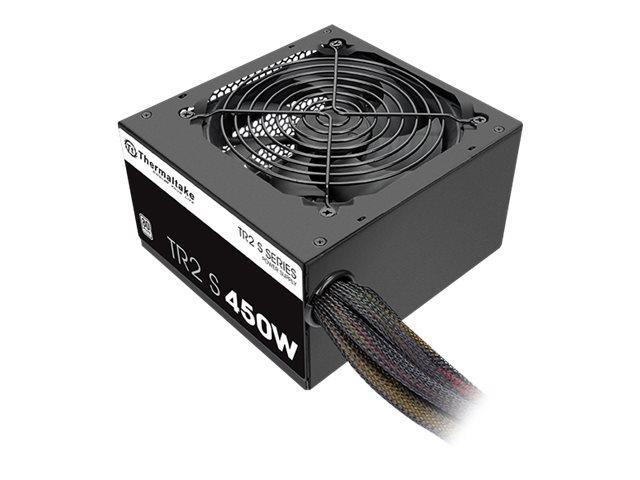 Thermaltake TR2 S 450W - Stromversorgung (intern) - ATX12V 2.3 - 80 PLUS - Wechselstrom 230 V - 450 Watt