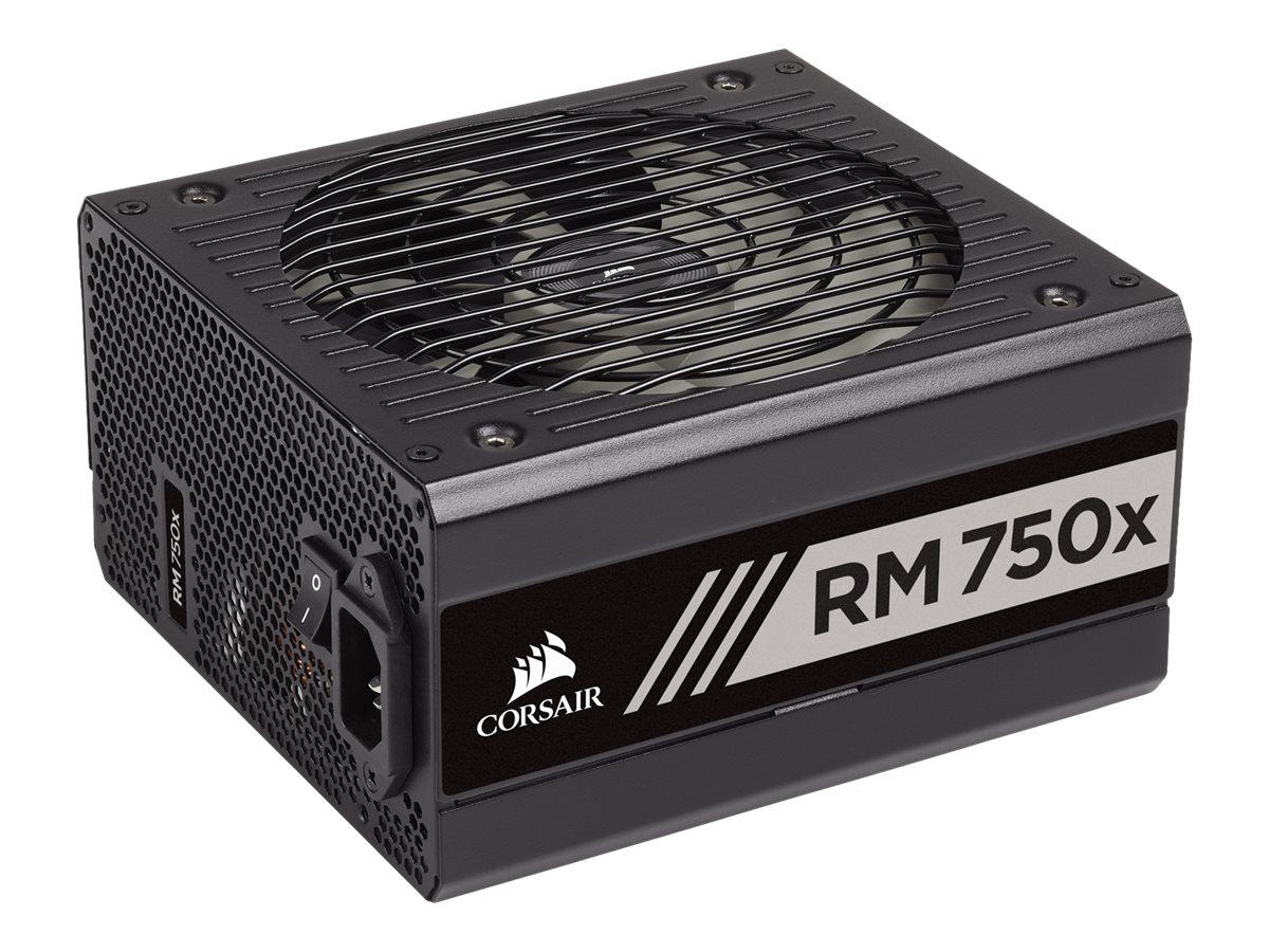 CORSAIR RMx Series RM750x - 2018 Edition - Stromversorgung (intern) - ATX12V 2.4/ EPS12V 2.92 - 80 PLUS Gold - Wechselstrom 100-