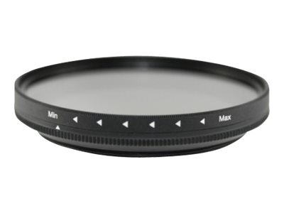 Braun SMOOTH ND-VARIO - Filter - variable neutrale Dichte 4x - 400x - 58 mm