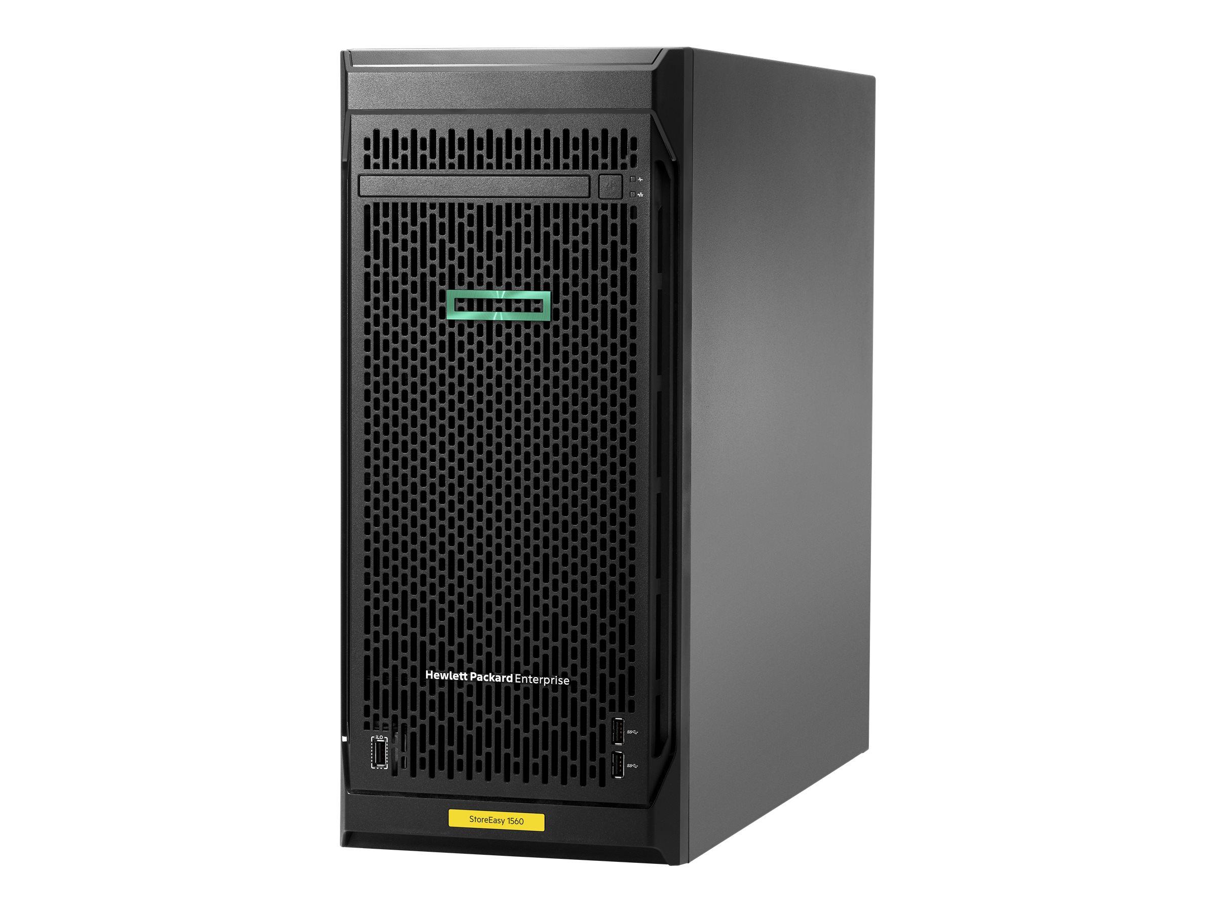 HPE StoreEasy 1560 - NAS-Server - 4 Schächte - 16 TB - Rack - einbaufähig