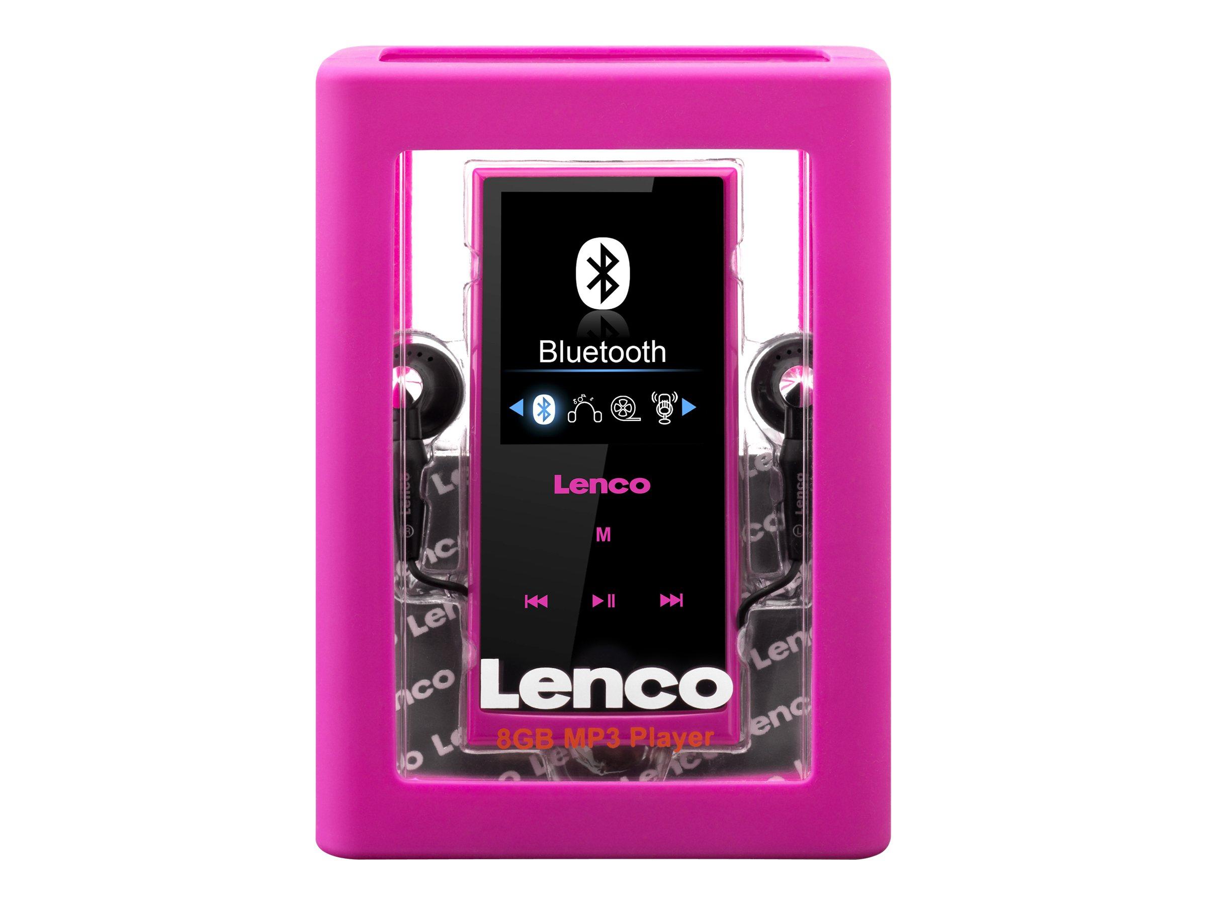 Lenco XEMIO-760 BT - Digital Player - 8 GB - pink