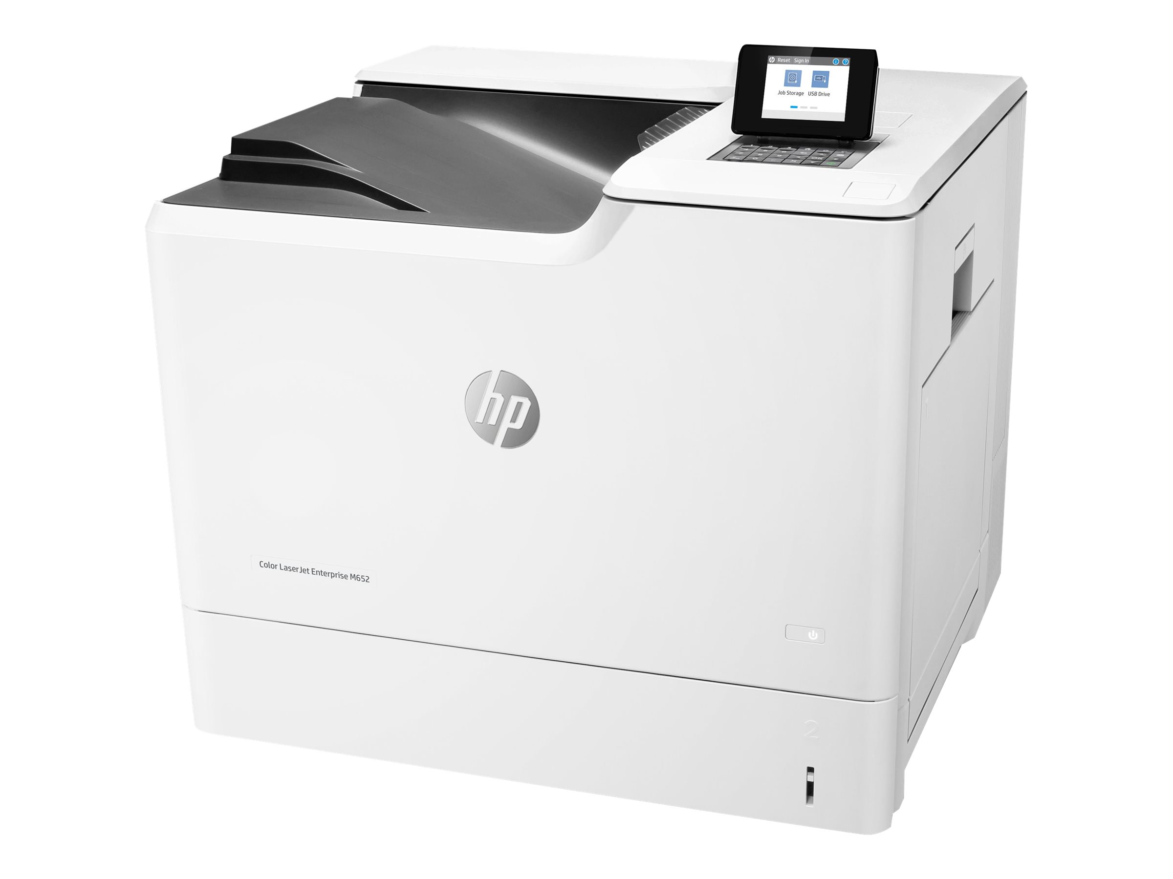 HP Color LaserJet Enterprise M652dn - Drucker - Farbe - Duplex - Laser - A4/Legal
