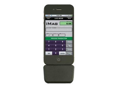 ID TECH iMag Pro II - Magnetkartenleser (Spuren 1, 2 & 3) - Schwarz