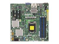 SUPERMICRO X11SSH-CTF - Motherboard - micro ATX - LGA1151 Socket - C236 - USB 3.0