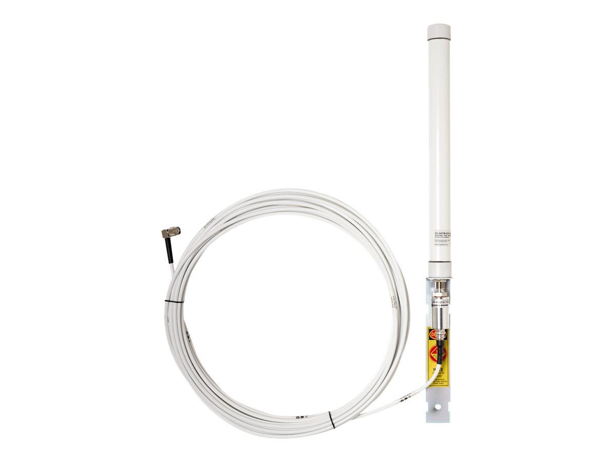 Cisco 3G Omnidirectional Outdoor Antenna - Antenne - 2 dBi (für 806 - 960 MHz), 4 dBi (für 1.710 bis 2.170 MHz) - ungerichtet -