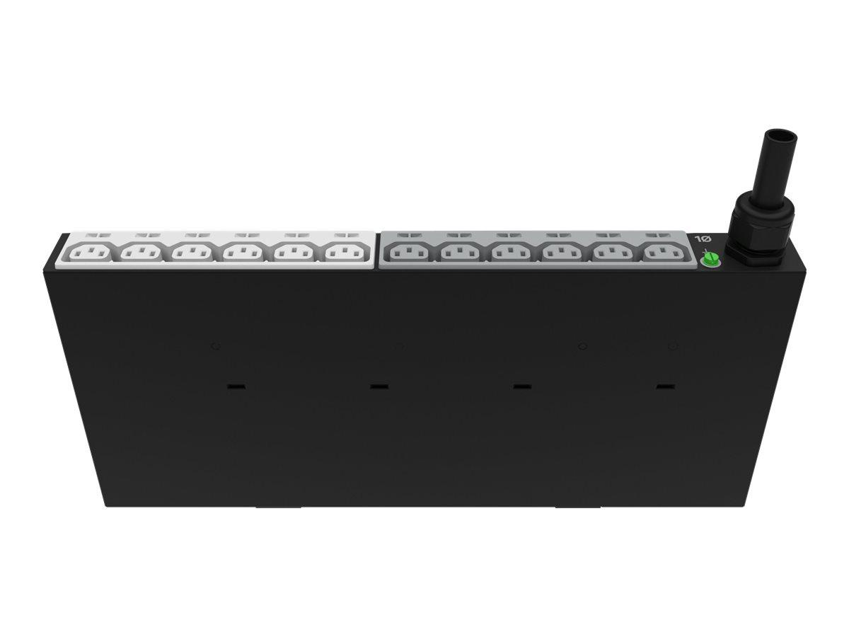 HPE G2 Basic Vertical Half-Height - Stromverteilungseinheit (Rack - einbaufähig) - AC 200-240/346-415 V - 22000 VA - Sternschalt