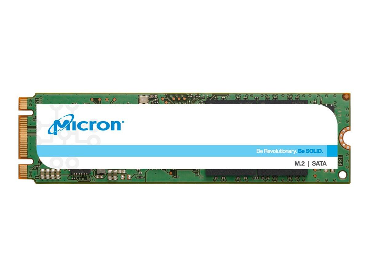 Micron 1300 - Solid-State-Disk - verschlüsselt - 256 GB - intern - M.2