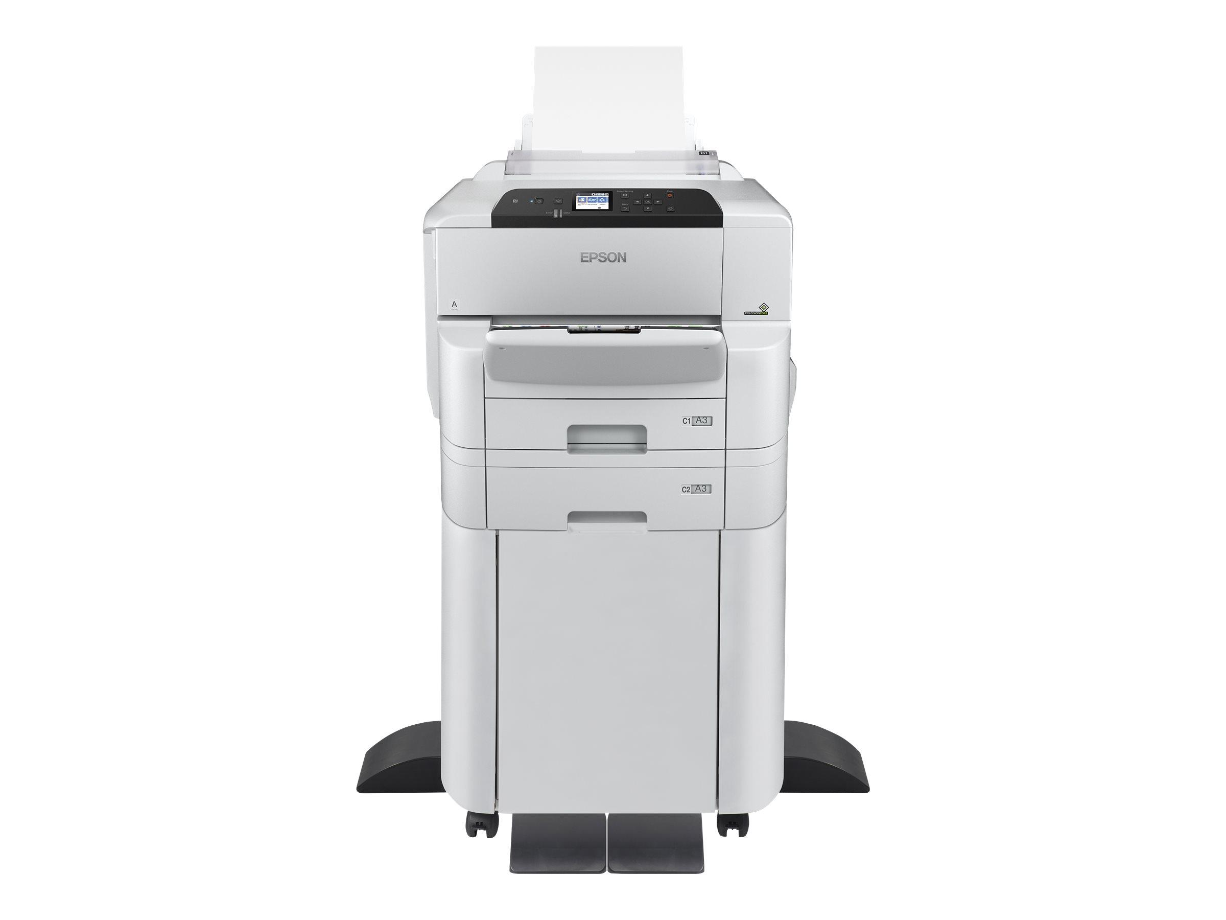 Epson WorkForce Pro WF-C8190DTWC - Drucker - Farbe - Duplex - Tintenstrahl - A3/Ledger