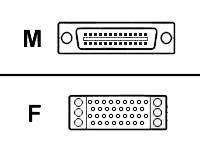 Cisco - V.35-Kabel (DCE) - Smart Serial (M) bis M/34 (V.35) (W) - 3 m - für Universal Access Server AS5300, AS5300-96, AS53-120,