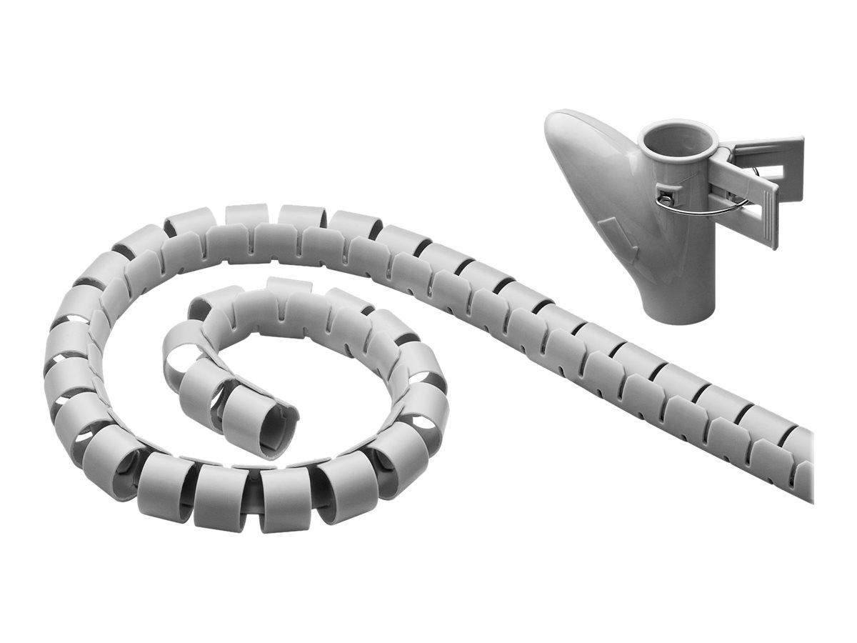 goobay WireTube - Kabelschlauch - 2.5 m - Grau