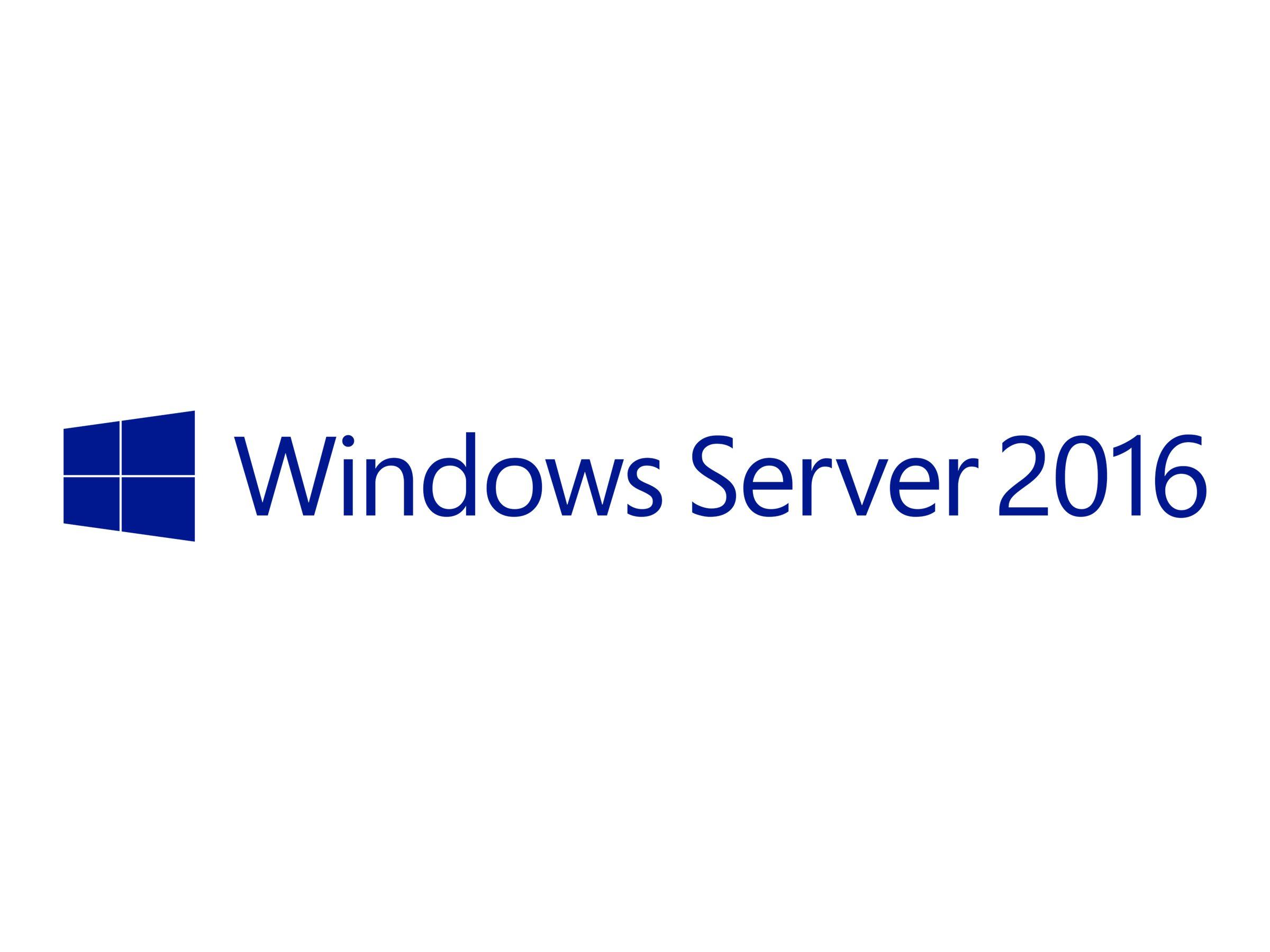 Microsoft Windows Server 2016 Standard - Lizenz - 16 Kerne - OEM - DVD - 64-bit