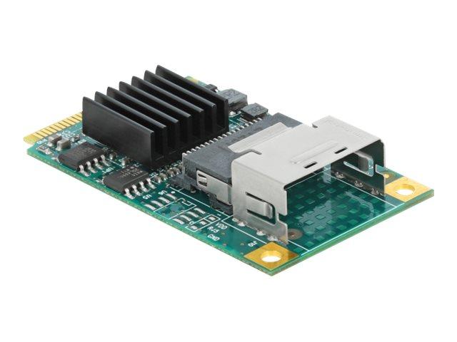 Delock Mini PCIe Converter to 4 x SATA 6 Gb/s - Speicher-Controller - SAS - 600 MBps - PCIe 2.0 Mini Card