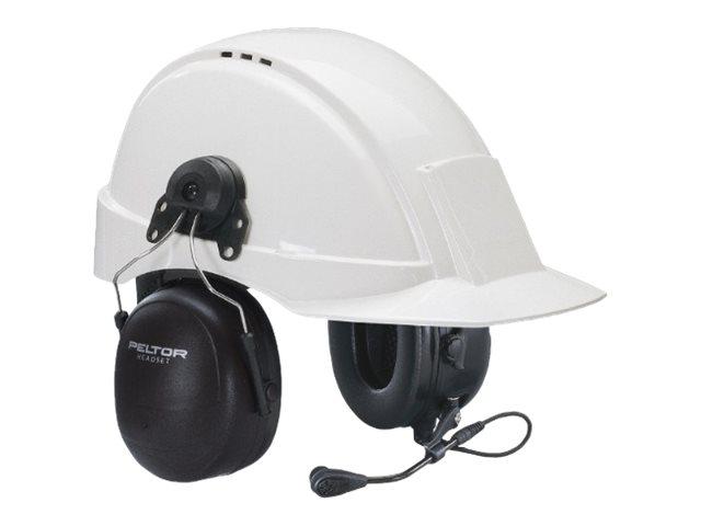 3M Peltor MT7H79P3E - MT Series - Headset - Full-Size - kabelgebunden - Schwarz