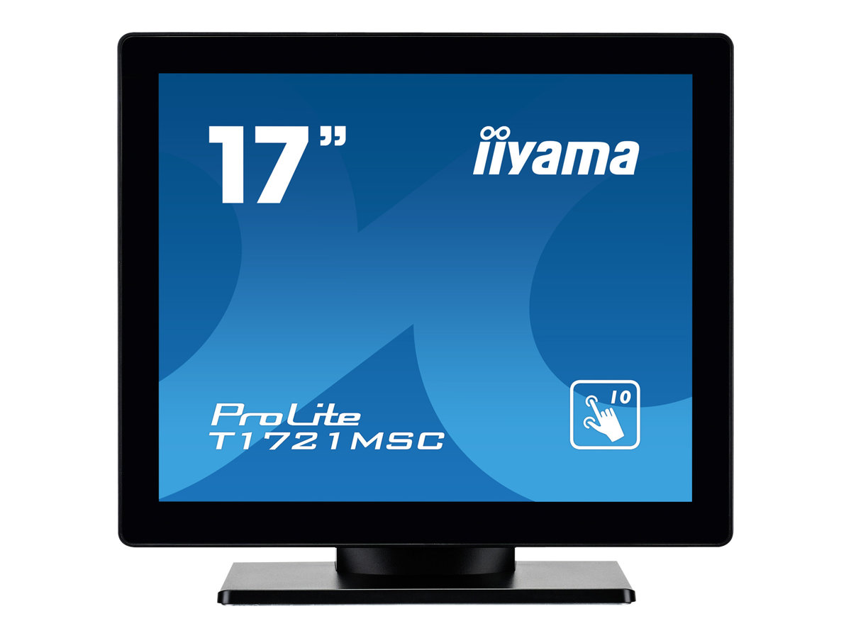 iiyama ProLite T1721MSC-B1 - LED-Monitor - 43.2 cm (17