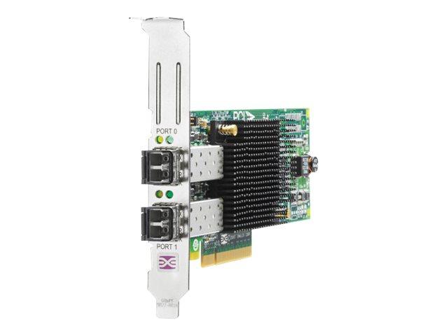 HPE 82E - Hostbus-Adapter - PCIe 2.0 x4 / PCIe x8 Low-Profile - 8Gb Fibre Channel x 2 - für Modular Smart Array 1040, 2040; ProL