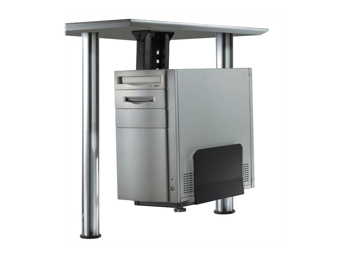 NewStar CPU-D200BLACK - Halterung für Systemeinheit - unter Tisch montierbar - Schwarz