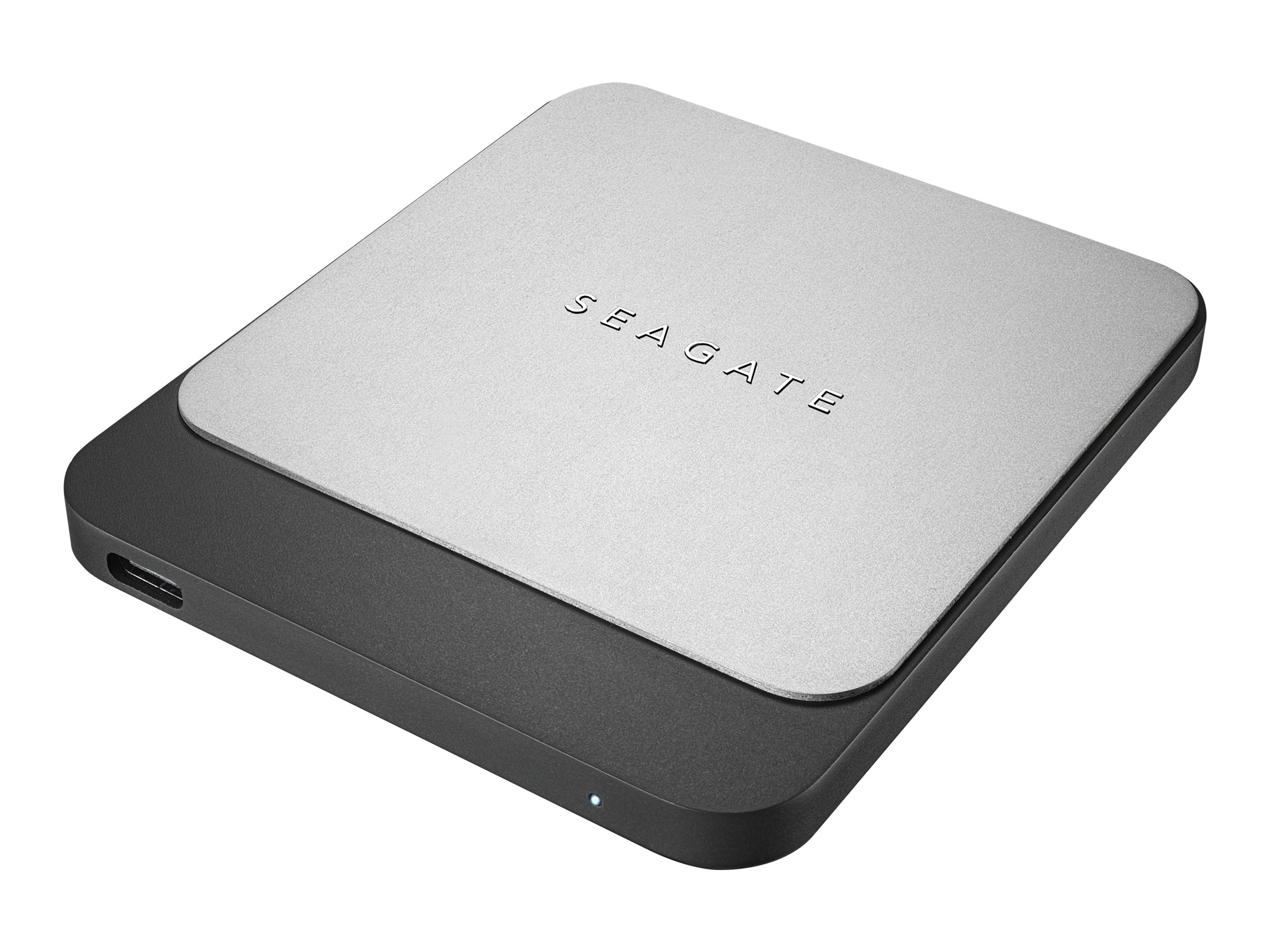Seagate Fast STCM500401 - Solid-State-Disk - 500 GB - extern (tragbar) - USB 3.0 (USB-C Steckverbinder) - Schwarz