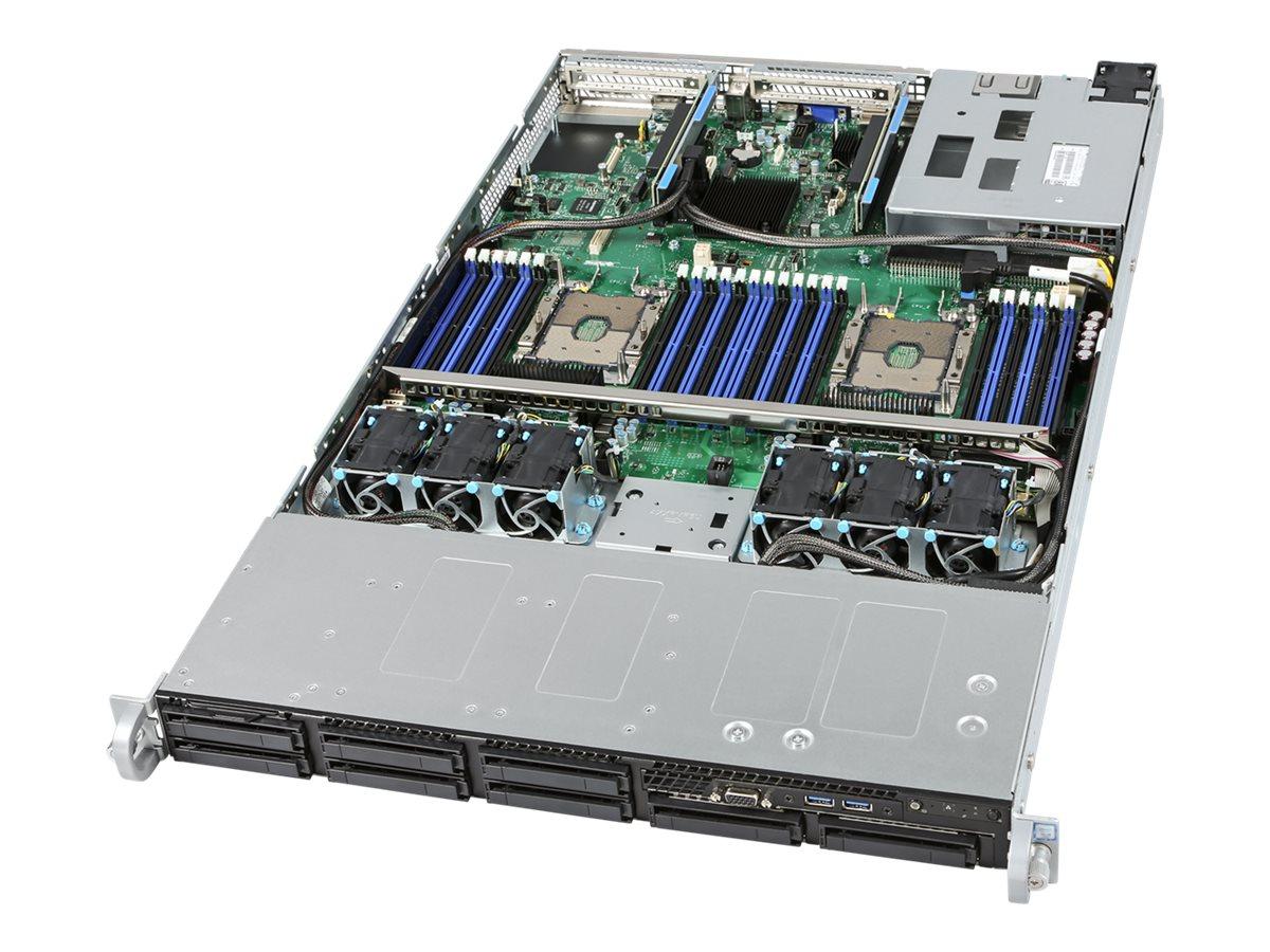 Intel Server System R1208WFTYSR - Server - Rack-Montage - 1U - zweiweg - keine CPU
